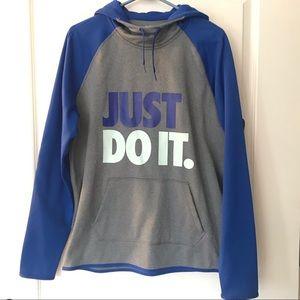 NWOT Nike Therma Fit Gray Sweatshirt
